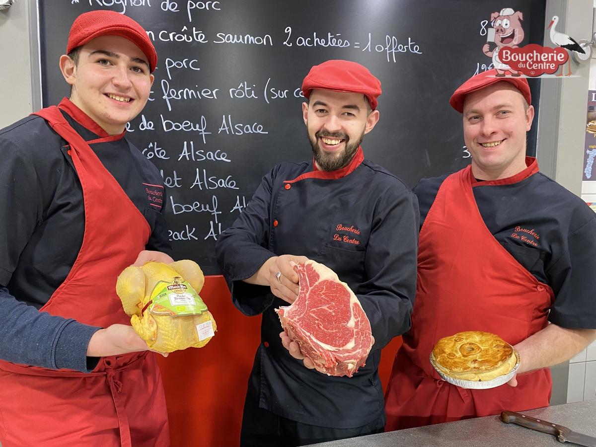 Boucherie du Centre : Boucherie Charcuterie Traiteur à Wittenheim